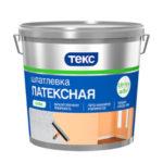 Шпаклевка Текс Профи латексная 1.5 кг