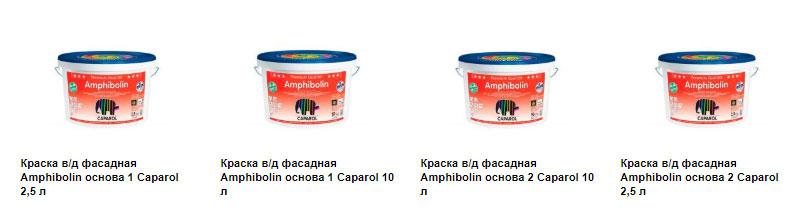 Дорогостоящая фасадная краска Amphibolin Caparol